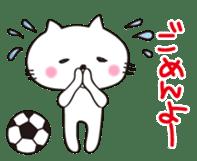 Crazy Soccer CAT sticker #2127860