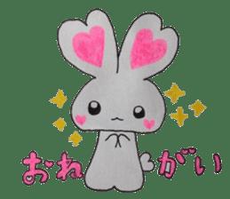 Love bunny sticker #2128188