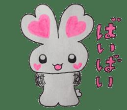 Love bunny sticker #2128190