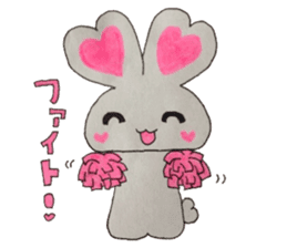 Love bunny sticker #2128191
