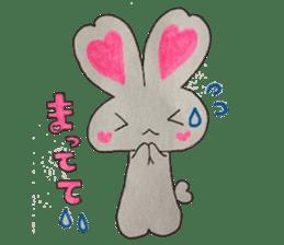 Love bunny sticker #2128192