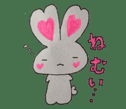 Love bunny sticker #2128194