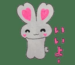 Love bunny sticker #2128198