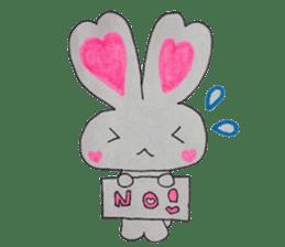 Love bunny sticker #2128201