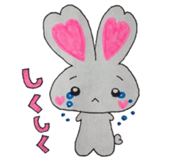 Love bunny sticker #2128202