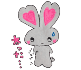 Love bunny sticker #2128206
