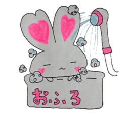 Love bunny sticker #2128210