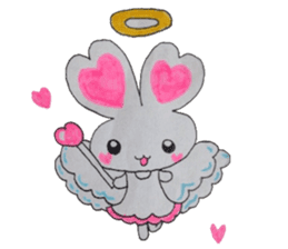 Love bunny sticker #2128213