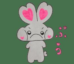 Love bunny sticker #2128216