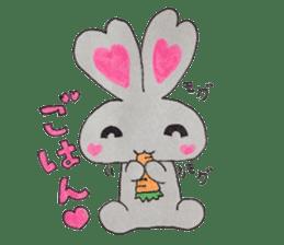 Love bunny sticker #2128217