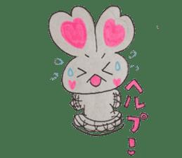 Love bunny sticker #2128220