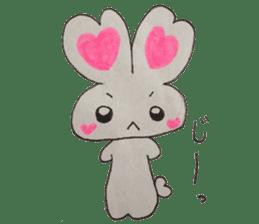 Love bunny sticker #2128221