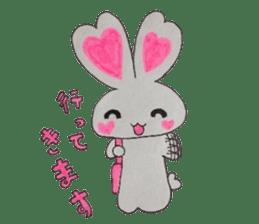 Love bunny sticker #2128225