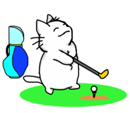 Playful cat. (KoiTaro) Family sticker #2128344