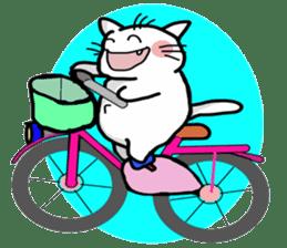 Playful cat. (KoiTaro) Family sticker #2128345