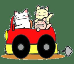 Playful cat. (KoiTaro) Family sticker #2128347