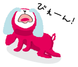 Mofumofu animals.And cat and rabbit. sticker #2128908