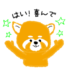 Mofumofu animals.And cat and rabbit. sticker #2128934