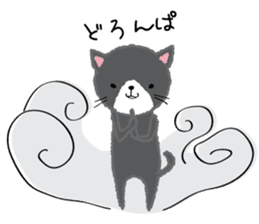 Mofumofu animals.And cat and rabbit. sticker #2128946