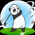 プロゴルファーパンダ