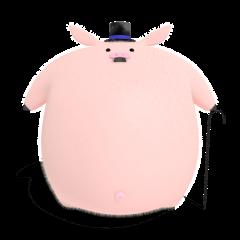 Neat Pig Gentleman