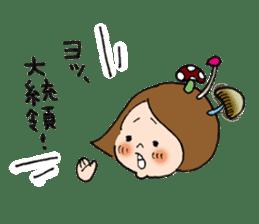 sesame girl sticker #2130814