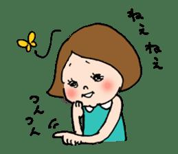 sesame girl sticker #2130821