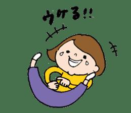sesame girl sticker #2130826