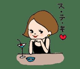 sesame girl sticker #2130827