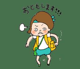 sesame girl sticker #2130831