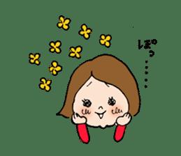 sesame girl sticker #2130836