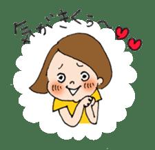 sesame girl sticker #2130837