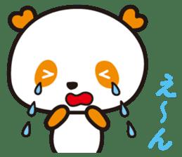 HAPPY PANDA Aimu sticker #2131085