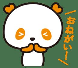 HAPPY PANDA Aimu sticker #2131089