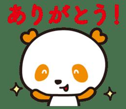 HAPPY PANDA Aimu sticker #2131092