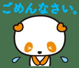 HAPPY PANDA Aimu sticker #2131093