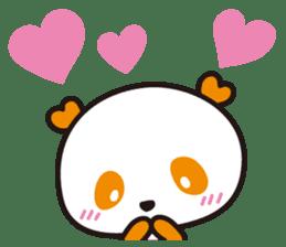 HAPPY PANDA Aimu sticker #2131097
