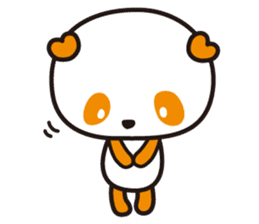 HAPPY PANDA Aimu sticker #2131098
