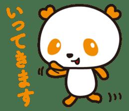 HAPPY PANDA Aimu sticker #2131100
