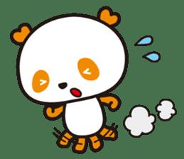 HAPPY PANDA Aimu sticker #2131101