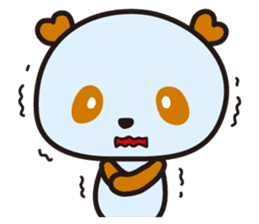 HAPPY PANDA Aimu sticker #2131108