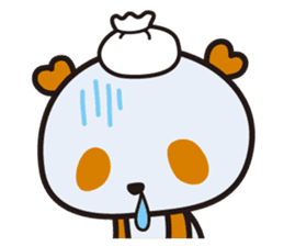 HAPPY PANDA Aimu sticker #2131109
