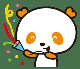 HAPPY PANDA Aimu sticker #2131110