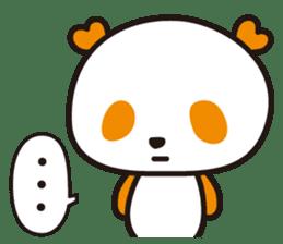 HAPPY PANDA Aimu sticker #2131112