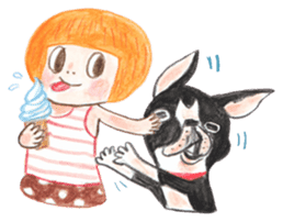 CHLOE&BO sticker #2131486