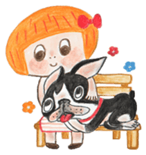 CHLOE&BO sticker #2131511