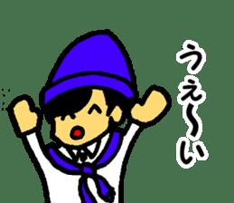 Japanese university students sticker #2132144