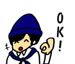 Japanese university students sticker #2132146