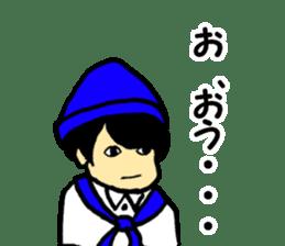Japanese university students sticker #2132155