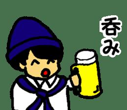 Japanese university students sticker #2132171